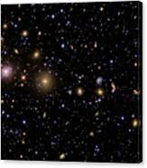 The Perseus Galaxy Cluster Canvas Print