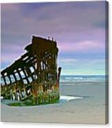 The Peter Iredale Canvas Print