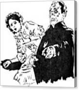 The Phantom Of The Opera Canvas Print