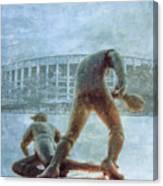 The Phillies At Veterans Stadium Canvas Print