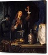The Physician 1653  Canvas Print
