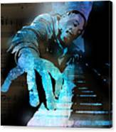 The Piano Man Canvas Print