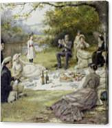 The Picnic Canvas Print