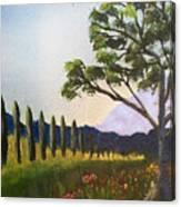 The Picnic Spot Canvas Print