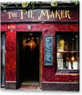 The Pie Maker Canvas Print