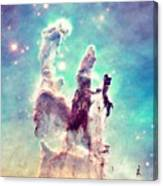 The Pillars Of Creation  Canvas Print