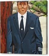The Pilot Canvas Print