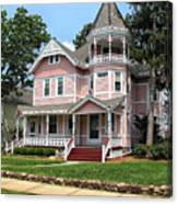 The Pink House 2 Canvas Print