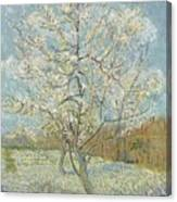 The Pink Peach Tree Arles, April - May 1888 Vincent Van Gogh 1853  1890 Canvas Print