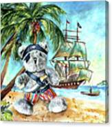 The Pirate Bear Canvas Print