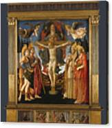 The Pistoia Santa Trinita Altarpiece Canvas Print