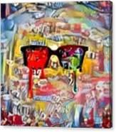 The Plasticity Of Dreams Canvas Print