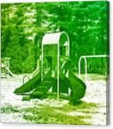 The Playground I - Ocean County Park Canvas Print