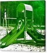 The Playground II - Ocean County Park Canvas Print