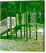 The Playground IIi - Ocean County Park Canvas Print