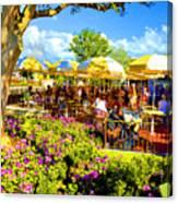 The Plaza Magic Kingdom Walt Disney World Canvas Print