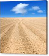 The Ploughed Field 2 Canvas Print