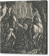The Ploughman Canvas Print