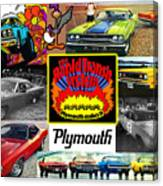 The Plymouth Rapid Transit System Collage Canvas Print