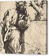 The Poet Canvas Print
