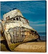 The Point Reyes Beached Canvas Print