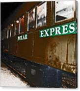 The Polar Express Canvas Print