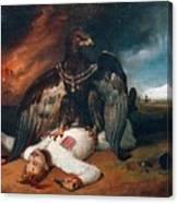 The Polish Prometheus Horace Vernet Canvas Print