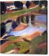 The Pond Canvas Print