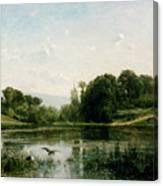 The Ponds Of Gylieu Canvas Print