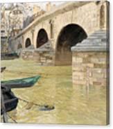 The Pont Marie. Paris Canvas Print