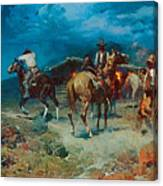 The Pony Express Canvas Print