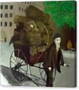 The Poor Man's Burden Canvas Print