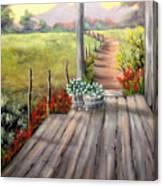 The Porch Canvas Print