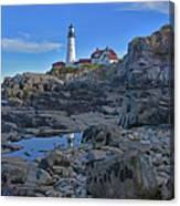 The Portland Lighthouse Canvas Print