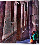 The Post Alley Gum Wall Canvas Print