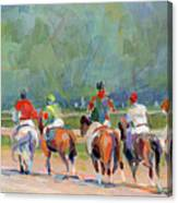 The Post Parade Canvas Print