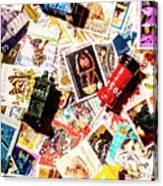 The Postbox Collector Canvas Print