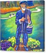 The Potato Man Canvas Print
