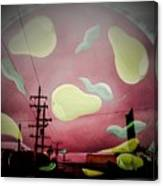 The Power Of Pear Canvas Print