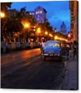 The Prado, Havana Cuba Canvas Print