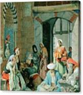The Prayer Of The Faithful Canvas Print