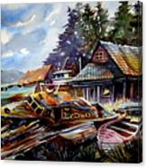 The Preserve Of Captain Flood Canvas Print