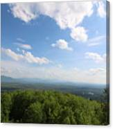 The Presidential Range From Mount Prospect Canvas Print