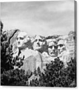 The Presidents Four Canvas Print