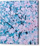 The Pretty Blooming Canvas Print