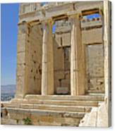 The Propylaia In Athens          The Propylaia - Vertical                                    Canvas Print