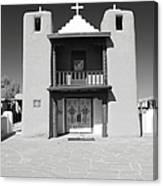 The Pueblo Church Canvas Print