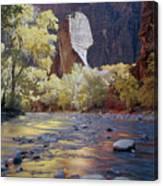 312447-the Pulpit  Canvas Print