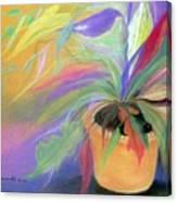 The Purple Bird Canvas Print