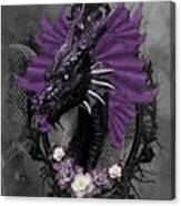 The Purple Dragon Canvas Print